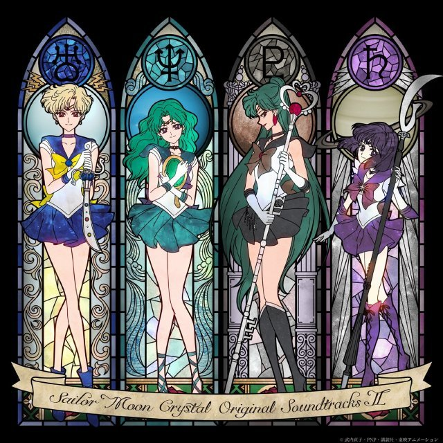 Bishojo Senshi Sailor Moon Crystal Original Soundtrack 2