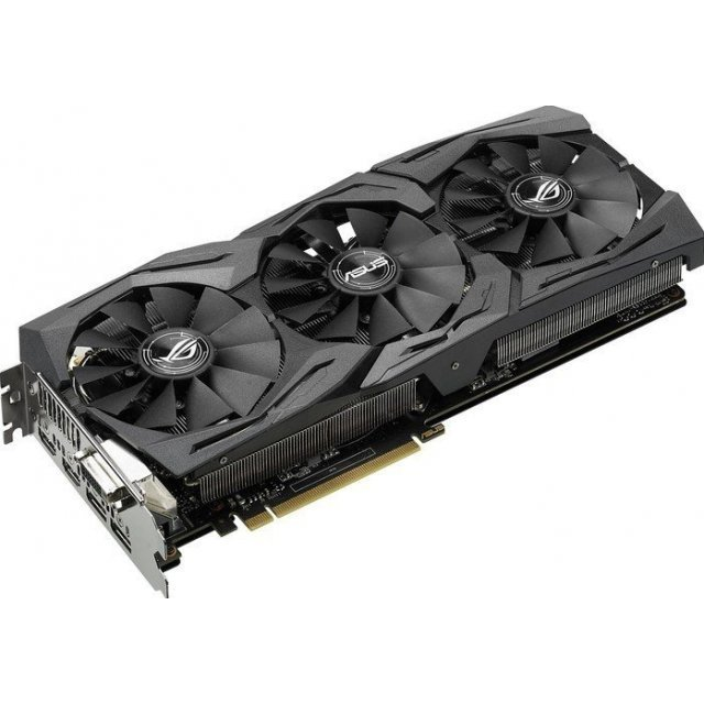 ASUS GeForce GTX 1070 OC, STRIX-GTX1070-O8G-GAMING, 8GB GDDR5