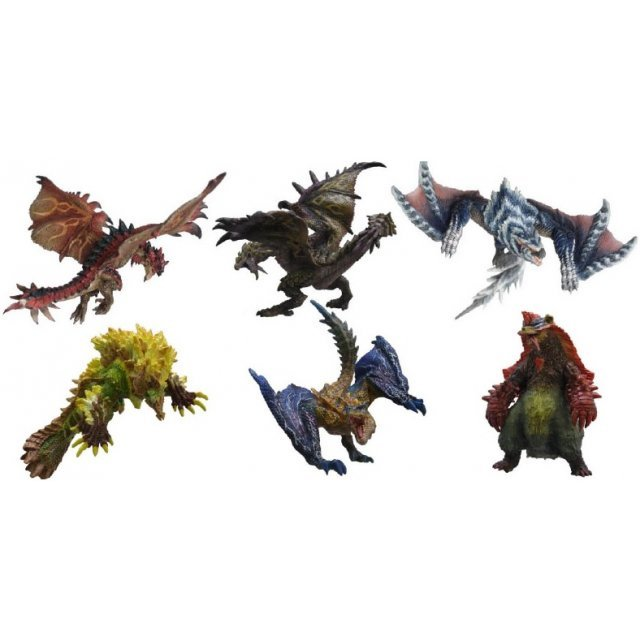 Capcom Figure Builder Monster Hunter Standard Model Plus Vol. 6 (Set of 6 pieces)