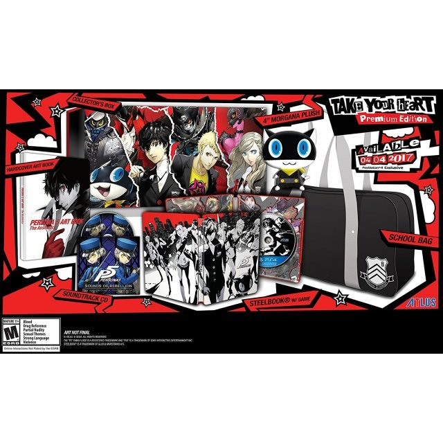 Persona 5 [Take Your Heart Premium Edition]