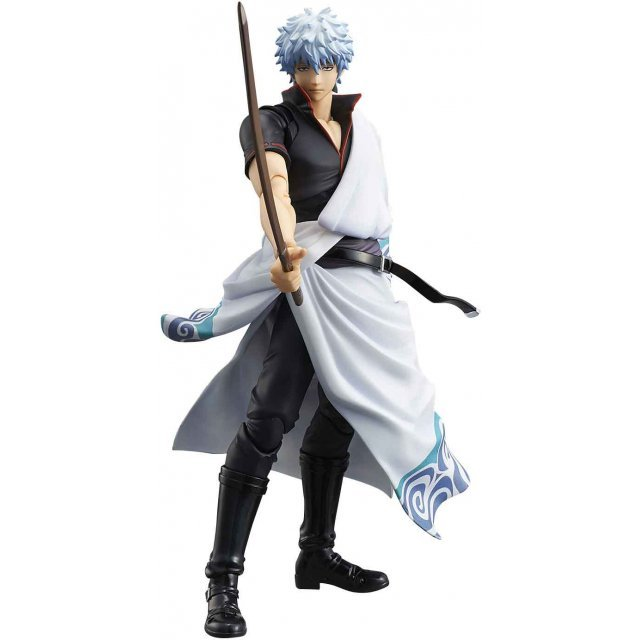 Variable Action Heroes Gintama Pre-Painted Action Figure: Sakata Gintoki