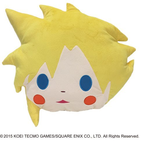 Final Fantasy Face Cushion: Cloud Strife