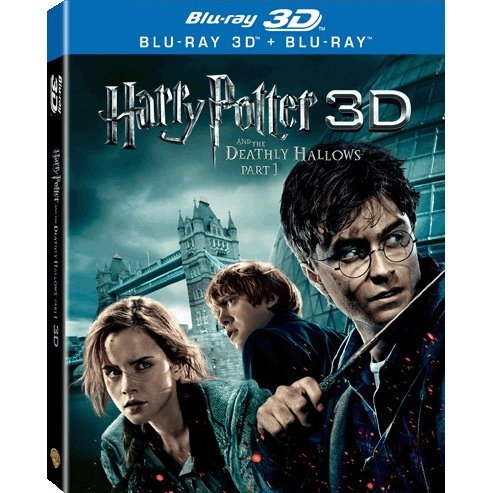 Harry Potter and The Deathly Hallows: Part 1 [3D] (3-Disc Set)