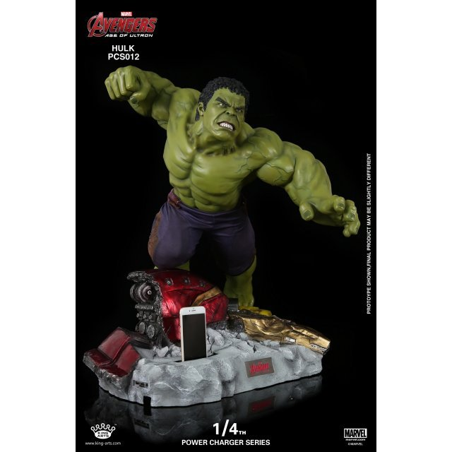 King Arts Avengers Age of Ultron 1/4 Power Charger Series: Hulk
