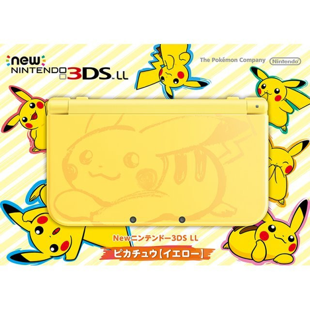 New Nintendo 3DS LL [Pikachu Edition] (Yellow)