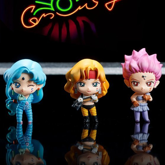 Petit Chara! Sailor Moon SuperS Ver. (Set of 5 pieces)