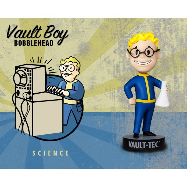 Fallout 3 Vault Boy 101 Bobbleheads Series Three: Science