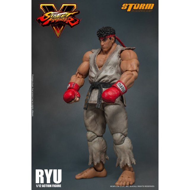 Street Fighter V 1/12 Scale Pre-Painted Action Figure: Ryu
