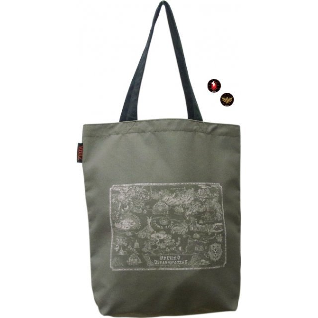 The Legend of Zelda Tote Bag: Hyrule Map