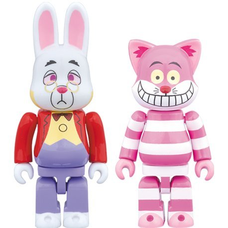 Alice in Wonderland: R@bbrick The White Rabbit & Ny@brick The Cheshire Cat (Set of 2 pieces)