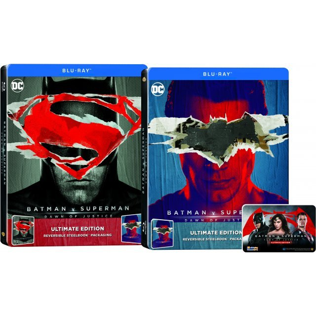 Batman V Superman: Dawn of Justice - Ultimate Edition (2-Disc Steelbook)