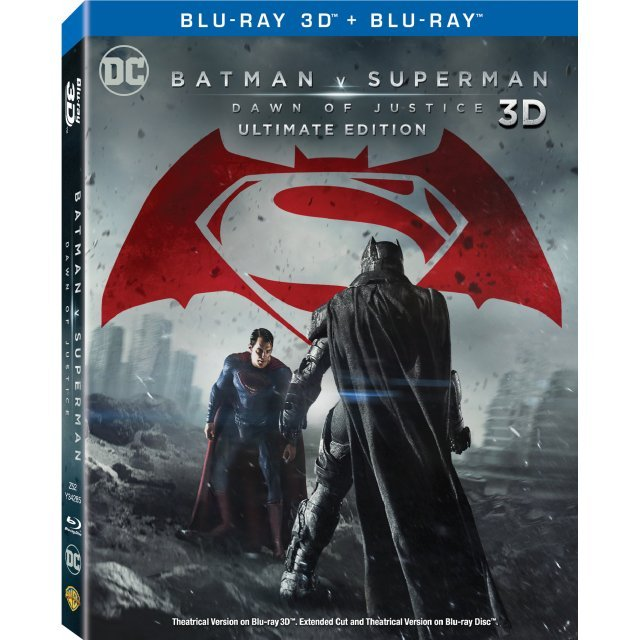 Batman V Superman: Dawn of Justice - Ultimate Edition [3D] (3-Disc)(Lenticular)