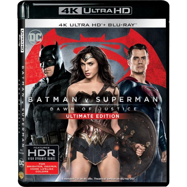 Batman V Superman: Dawn of Justice - Ultimate Edition (4K UHD+BD)(2-Disc)
