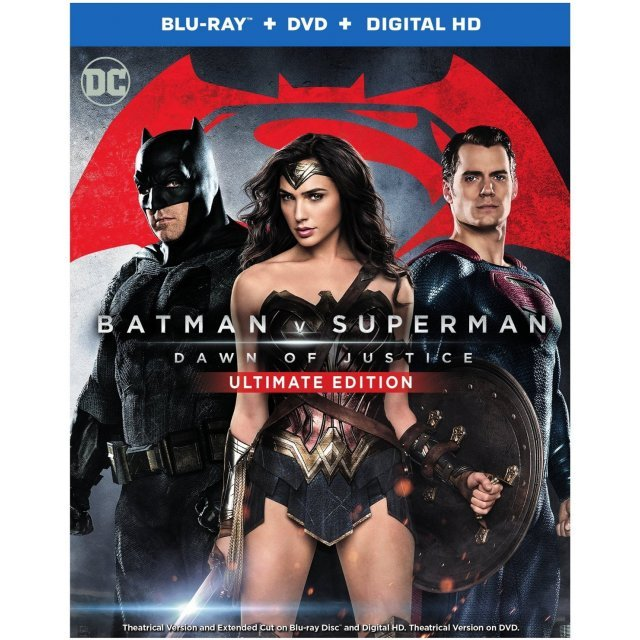 Batman V Superman: Dawn of Justice (Ultimate Edition) [Blu-ray+DVD+Digital HD]