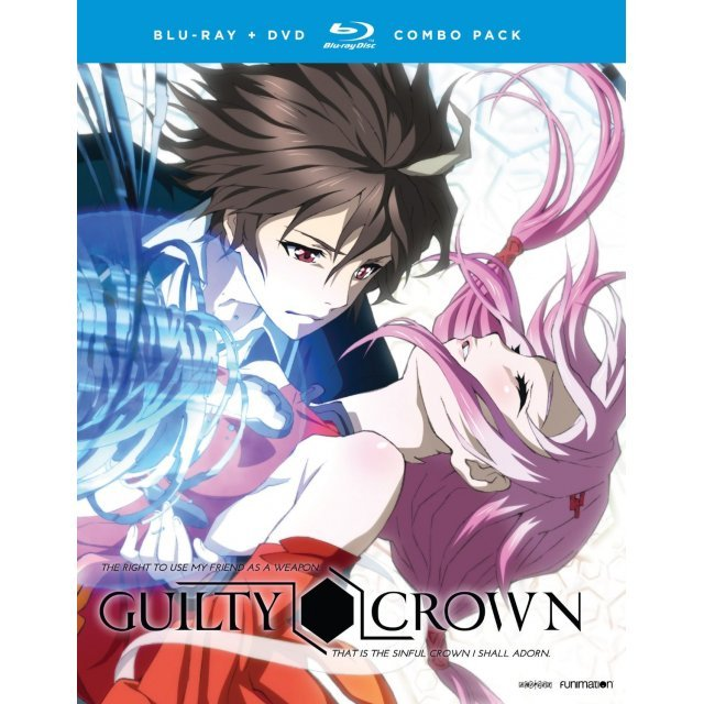 Guilty Crown - The Complete Series (Seasons 1-2)  [Blu-ray+DVD]