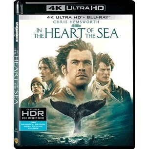 In The Heart of the Sea [4K UHD Blu-ray + Blu-ray] (2-Disc)