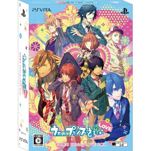 Uta no * Prince-Sama: Repeat Love [Limited Shining Love Box]