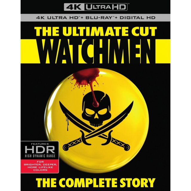 Watchmen (The Ultimate Cut) [4K UHD Blu-ray]