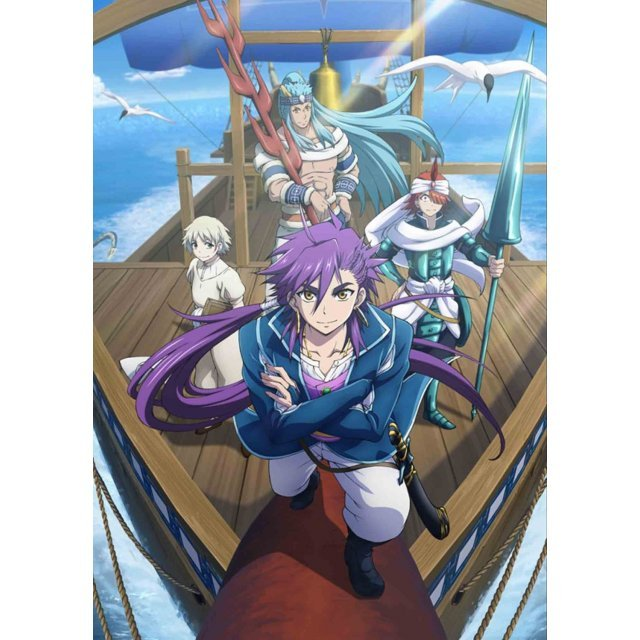 Magi Adventure Of Sinbad Complete Box [Limited Edition]
