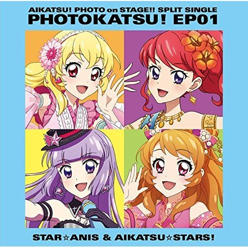 Aikatsu - Photo On Stage - Split Single Photo Katsu Ep 01