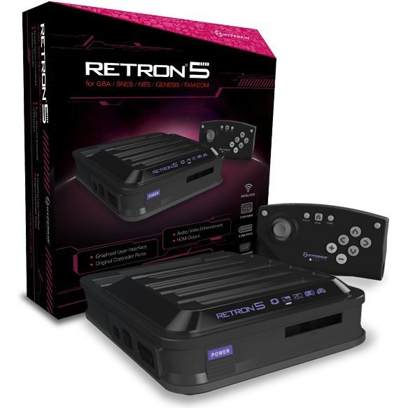 Hyperkin RetroN 5 Gaming Console (Black)