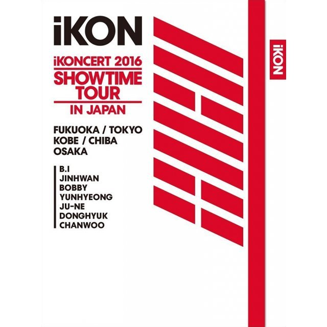 Ikoncert 2016 Showtime Tour In Japan [2Blu-ray+2CD Limited Edition]