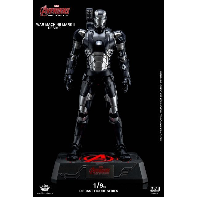 King Arts Avengers Age of Ultron 1/9 Diecast Figure Series: War Machine Mark II