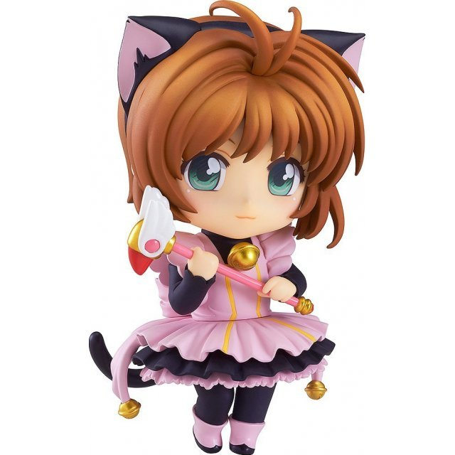 Nendoroid Co-de Cardcaptor Sakura: Sakura Kinomoto Black Cat Maid Co-de