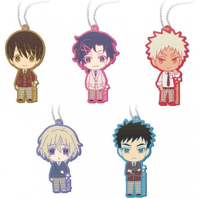 Sanrio Danshi Rubber Mascot: Oretachi Sanrio Danshi! Ver. (Set of 6 pieces)