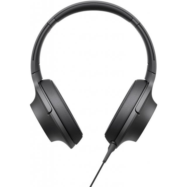 Sony MDR-100AAP H.ear on Premium Hi-Res Stereo Headphones (Black)