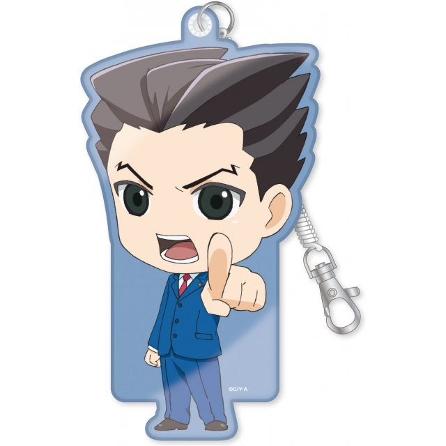 Ace Attorney - The Truth Objection! Diecut Pass Case: Naruhodo