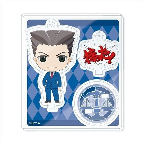 Ace Attorney - The Truth Objection! Multi Acrylic Mascot Collection (Set of 10 pieces)