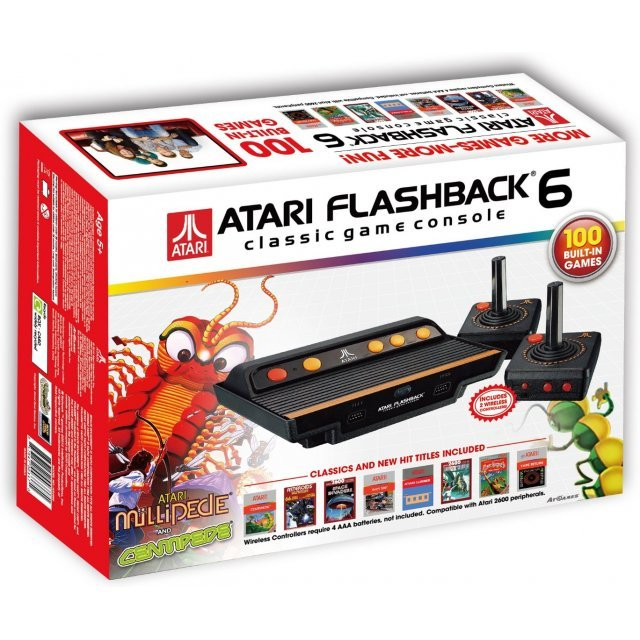At Games Atari Flashback 6 Classic Game Console