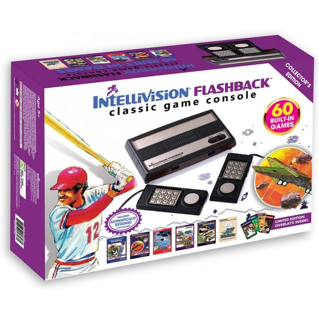 At Games Intellivision Flashback Classic Game Console