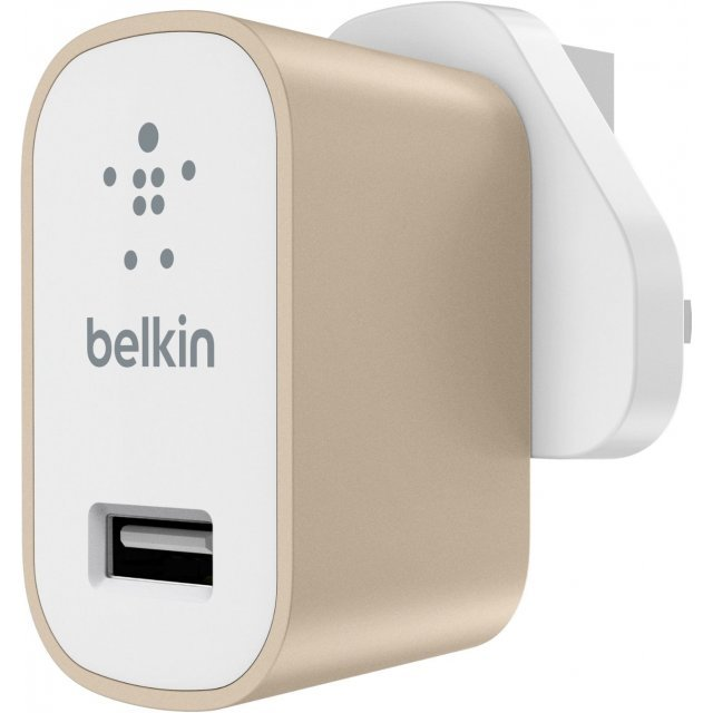 Belkin MIXIT Metallic Home Charger (Gold)