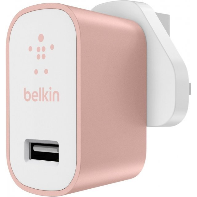 Belkin MIXIT Metallic Home Charger (Rose Gold)