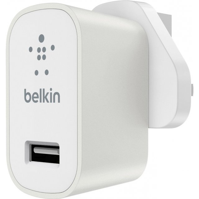 Belkin MIXIT Metallic Home Charger (White)