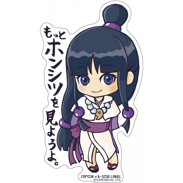CAPCOM x B-SIDE Label Sticker Vol. 4 Ace Attorney 6: Ayasato