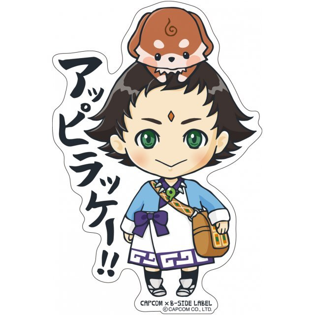 CAPCOM x B-SIDE Label Sticker Vol. 4 Ace Attorney 6: Bokuto & Mitamaru