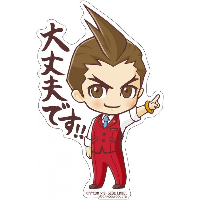 CAPCOM x B-SIDE Label Sticker Vol. 4 Ace Attorney 6: Odoroki