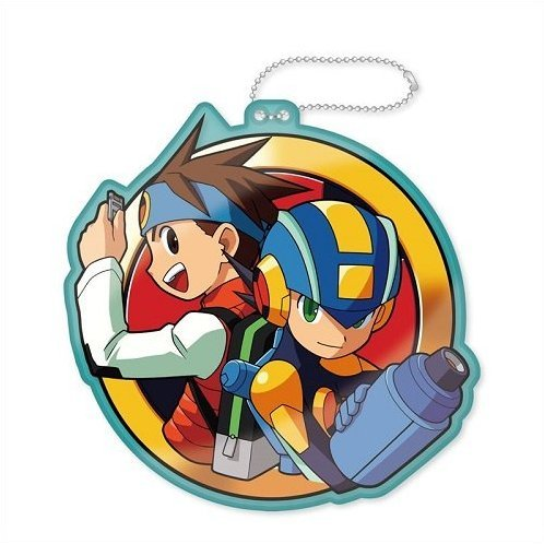 Mega Man Diecut Coin Case: Battle Network Mega Man & Lan