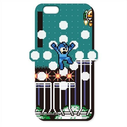 Mega Man iPhone 6 Cover: Mega Man Landing