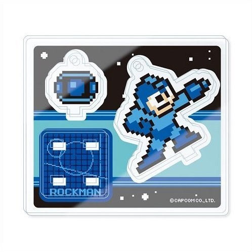 Mega Man Multi Acrylic Mascot Collection (Set of 10 pieces)