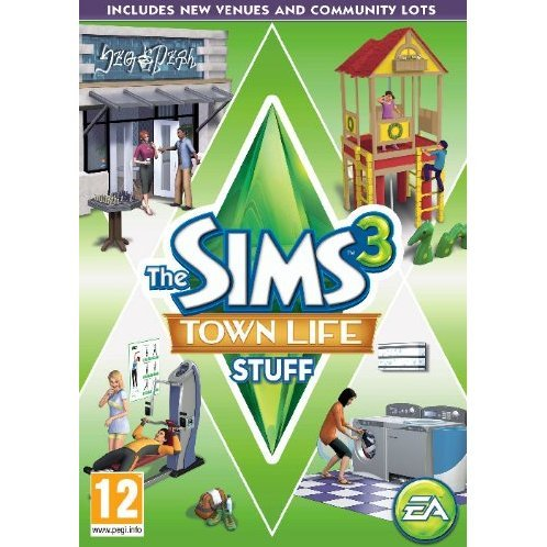 The Sims 3: Town Life Stuff (Origin)