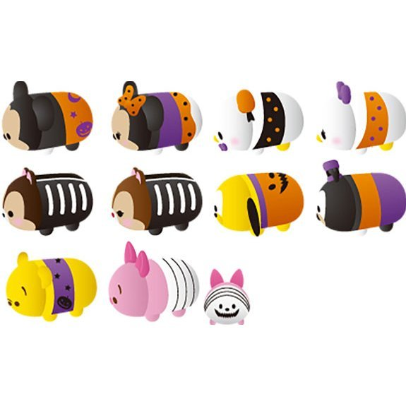 Disney Nosechara Tsum Tsum Halloween Ver. Solo (Set of 10 pieces)