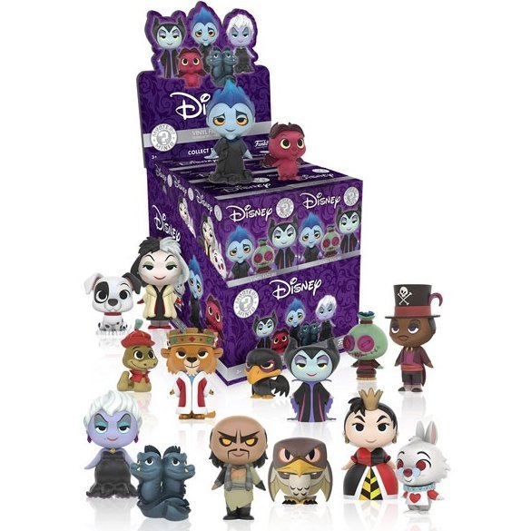 Funko Pop! Mystery Mini: Disney Villains (Set of 12 pieces)