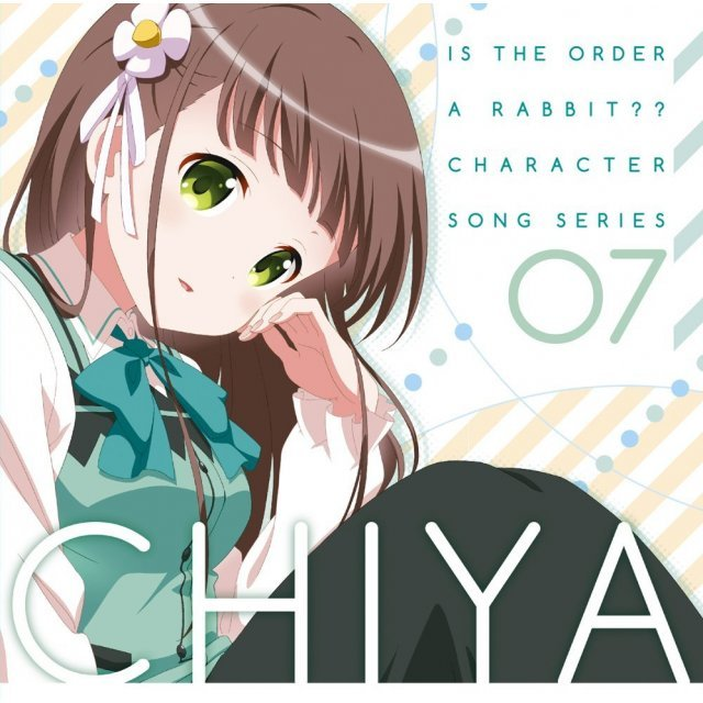 Is The Order A Rabbit / Gochumon Wa Usagi Desu Ka Character Song Series 07 Chiya