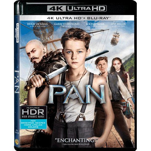 Pan (4K UHD+BD)(2-Disc)