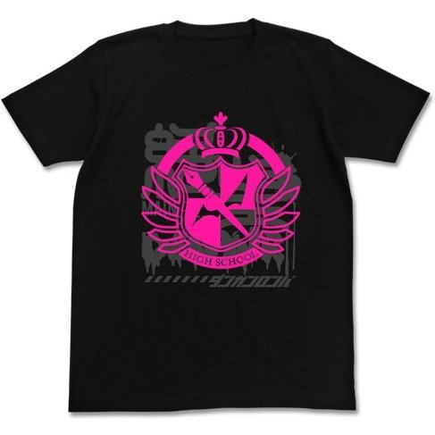 Danganronpa 3 The End of Kibougamine Gakuen T-shirt Black: Despair of Kibogamine Gakuen (M Size)