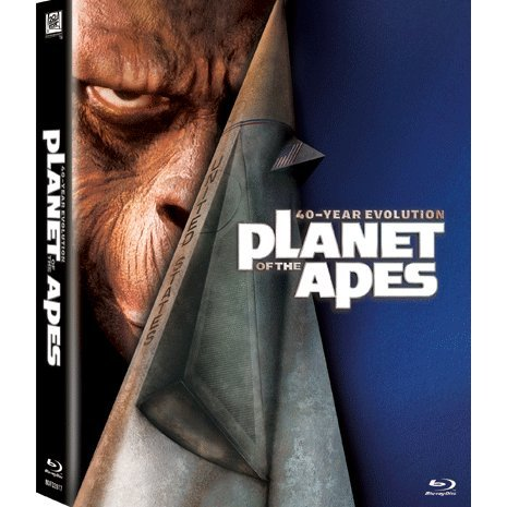 Planet Of The Apes 40-Year Evolution Boxset